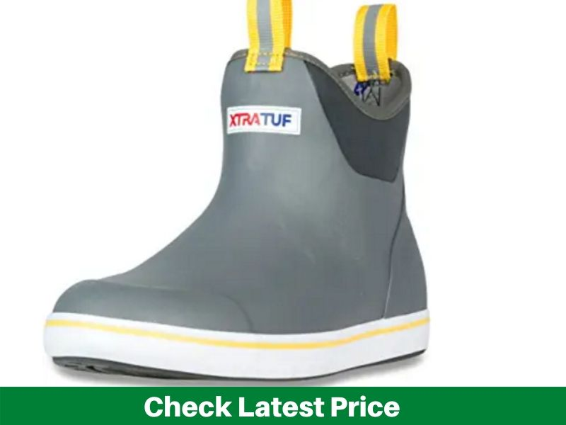 XTRATUF Performance Men's Full Rubber Ankle Deck Boots